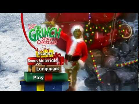 How The Grinch Stole Christmas - DVD Menu Walkthrough