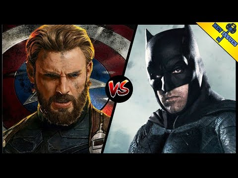 MCU Captain America vs DCEU Batman | Who Would Win?