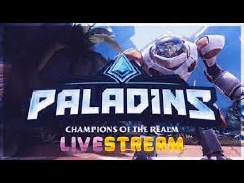 LIVESTREAM  #1 PALADINS