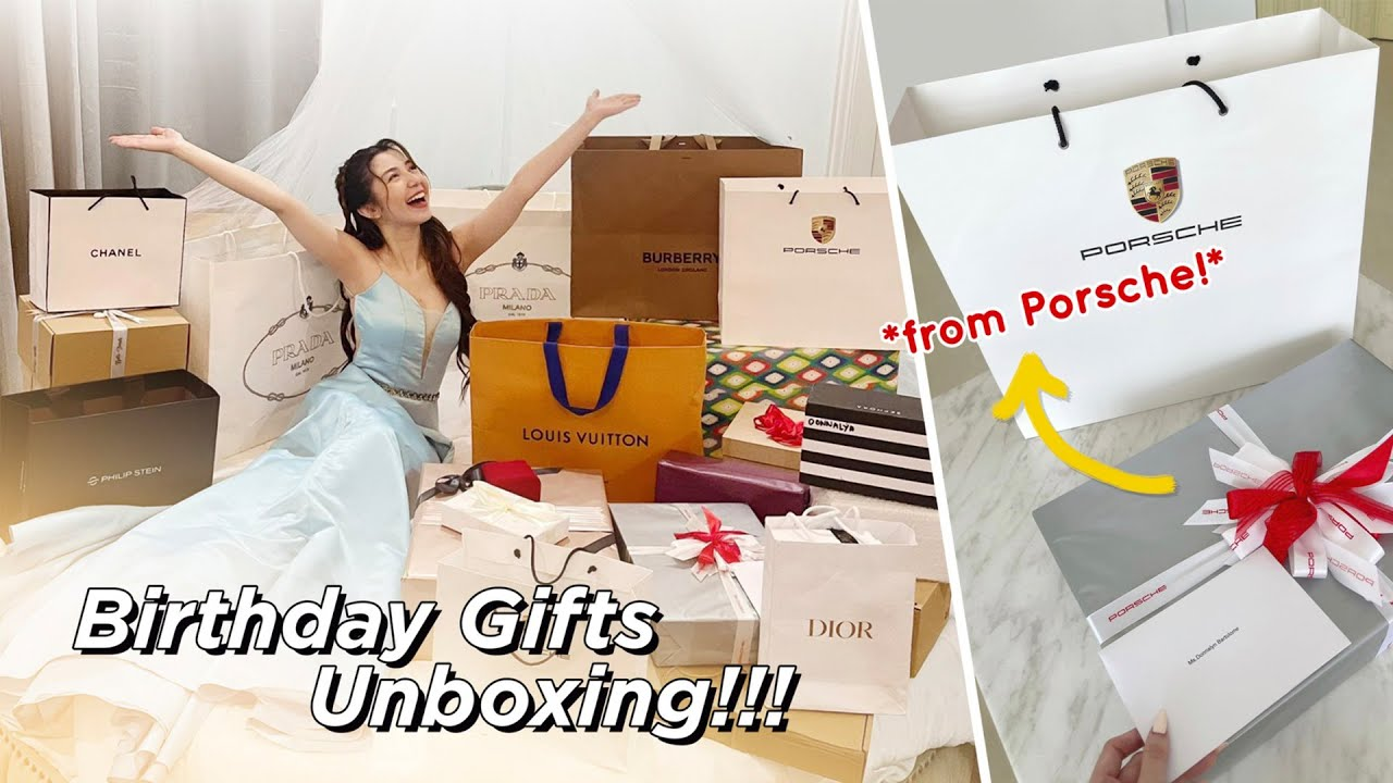 Download Opening my Birthday Gifts (Thank you Porsche!!! I love it!!!)