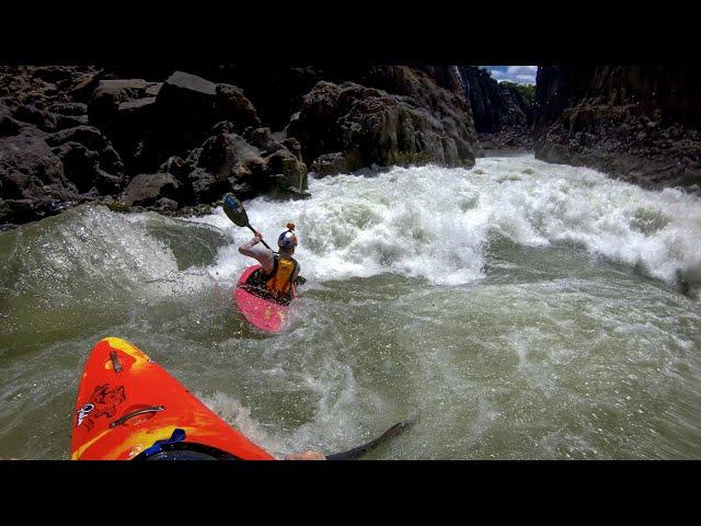 Following Dane Jackson down the Zambezi river!