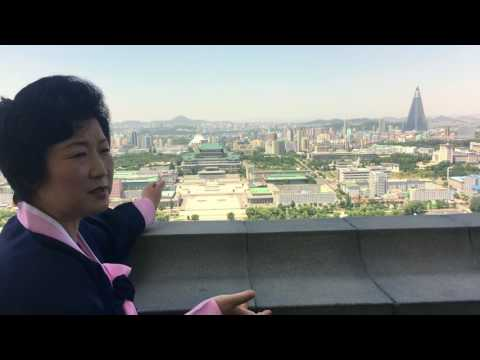 North Korea - Top of Juche Tower
