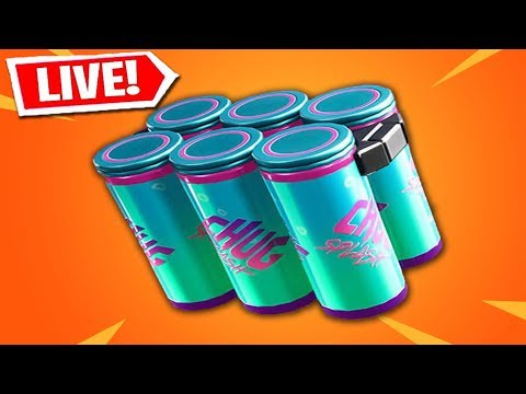 NEW FORTNITE UPDATE! NEW CHUG SPLASH GAMEPLAY & LIVE EVENT INFO! (FORTNITE BATTLE ROYALE LIVE) thumbnail