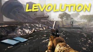 MEGA ZNISZCZENIA - Levolution w Battlefield 4! | Mervo