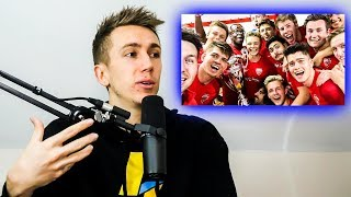 Where were all the YouTubers at the Wembley Cup?