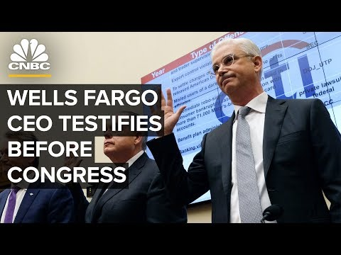 Wells Fargo CEO Charles Scharf Testifies Before House On Bank's Next Steps – 3/10/2020