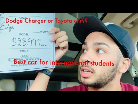 International Student Buying Car. Best Car For International Student |winnipeg