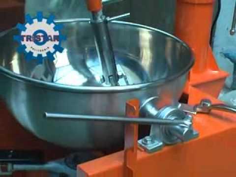 Gas Cooking Mixer - Cara Kerja Mesin Dodol - Jenang - Tausa - Info : 0858 5483 3381.