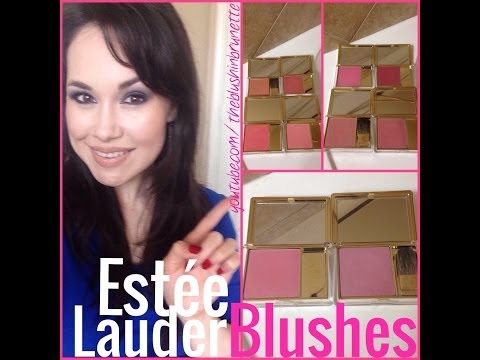 ESTEE LAUDER BLUSHES + SWATCHES ★ MY BELOVED COLLECTION!