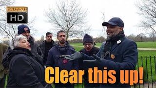 P1 - Clear this up! Hashim Vs Visitors | Speakers Corner | Hyde Park