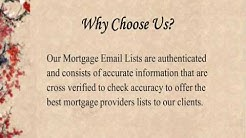 Mortgage Email Lists | Pioneer Lists