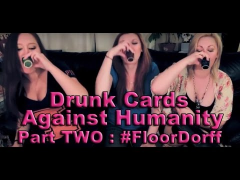 Drunk Cards Against Humanity, Part 2 | Scream Queen Stream
