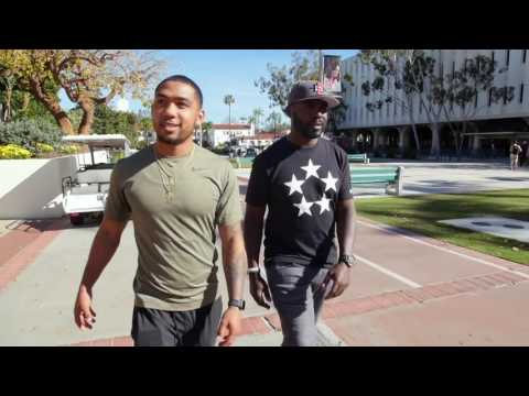 Back2Campus  Marshall Faulk and Donnel Pumphrey at San Diego State