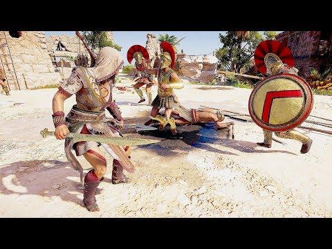 Assassin's Creed Odyssey Brutal Hunter Combat & Legendary Dagger Kills thumbnail