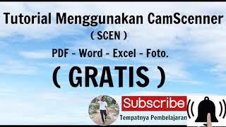 Tutorial Menggunakan CamScanner ( Scan ) PDF, Word, Excel, Foto. ( GRATIS ) screenshot 1