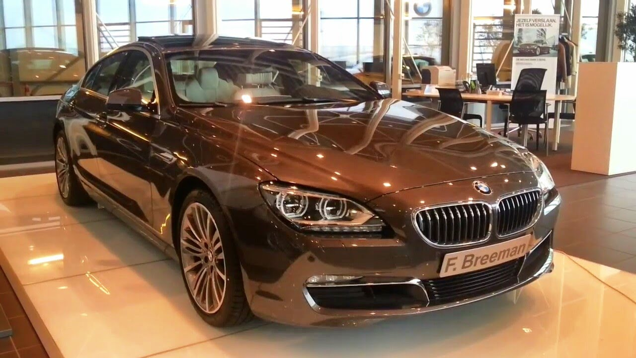 BMW 6 Series Grancoupe 2014 In depth review Interior Exterior - YouTube