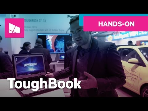 Panasonic ToughBook CF-33 Hands-On: Rugged 2-in1 Windows 10 PC