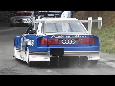 Audi S4 (C4) GTO Chirping Like A Bird! - 2.2L 5-Cylinder Turbo Engine Melody