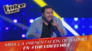 The Voice Chile | Gabriel Pérez - Hold the Line