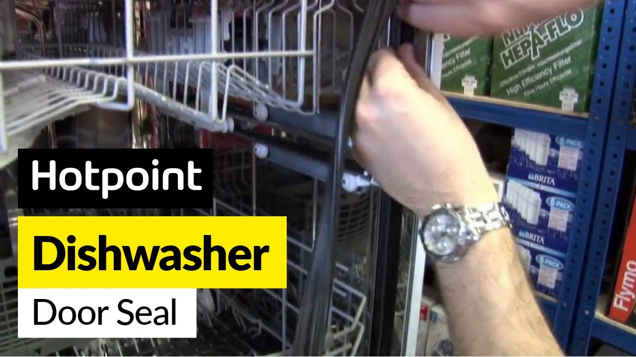 How To Replace A Dishwasher Door Seal On A Hotpoint