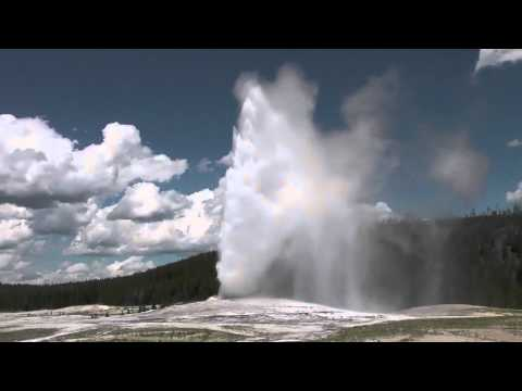 Old Faithful Geyser Eruption [HD] Yellowstone National Park