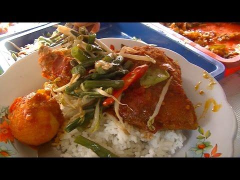 Jakarta Street Food 535 Cirebon Mix Rice Nasi Rames Khas Cirebon BR TV 4042