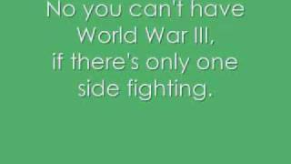 World War 3 Jonas Brothers lyrics