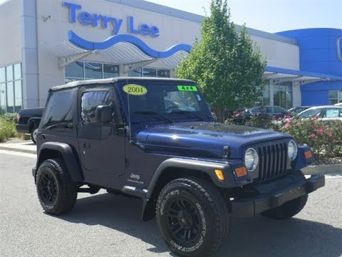 2004 Jeep Wrangler Se 2 4 5 Speed Start Up And Full Tour