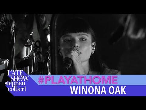 """Winona Oak """"SHE"""" - A Late Show #PlayAtHome Performance"""
