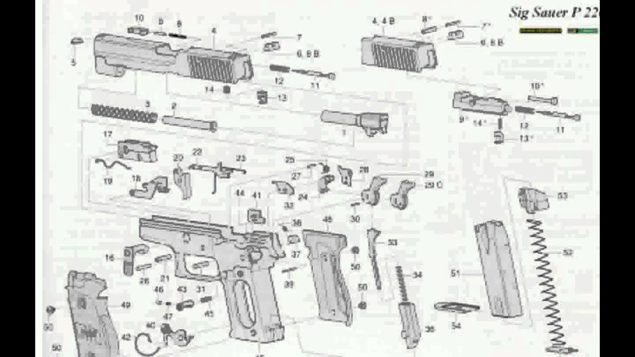Sig Sauer P226 X Six Scandic Blue 9mm Luger Pistol