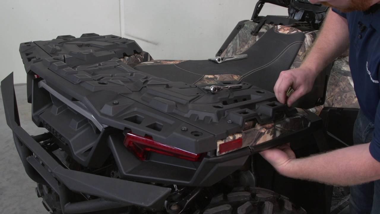 Sportsman 174 Ultimate Series 4 Rear Rack Extender Install