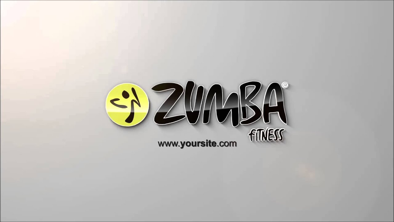 3d Particle Logo Zumba V1