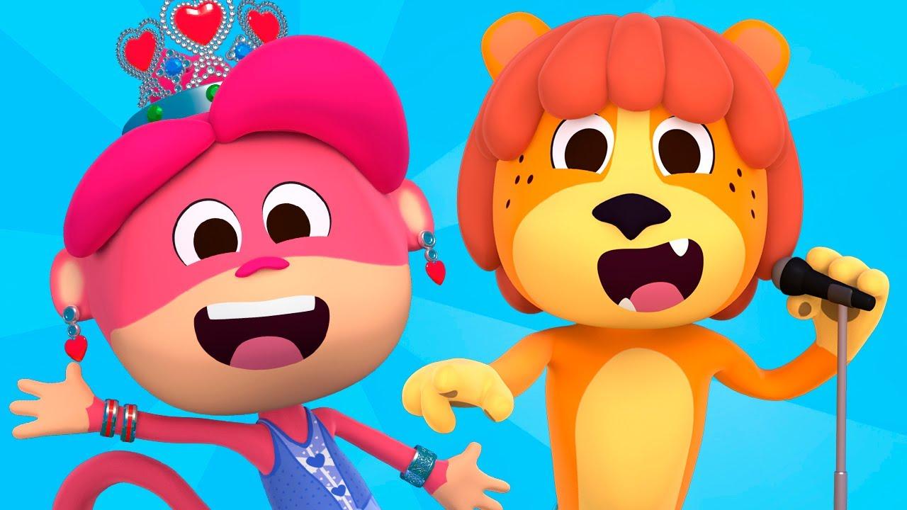 La Mona Winona - Canciones del Zoo 6 | El Reino Infantil