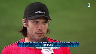 L'interview d'orelsan à la mi-temps de caen - paris saint-germain