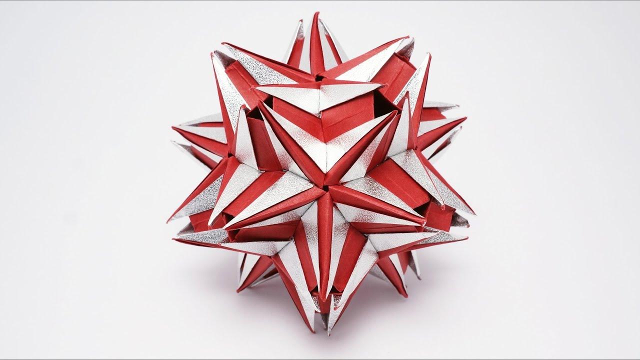 Origami Kusudama Jaciara Ekaterina Lukasheva Youtube