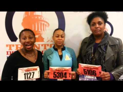 Black Girls Run Trenton Half Marathon prt1