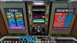 jugando roblox flood escape 2 ♣