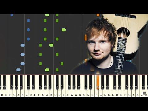 SHAPE OF YOU - Ed Sheeran piano tutorial (FREE SHEET AND MIDI DOWNLOAD)
