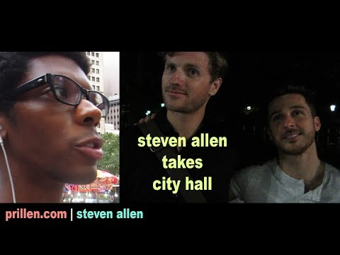 Steven Allen Takes City Hall ft. Brian McCullough and Theodore Newton | 29 June 2017