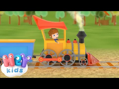 Mezzi di Trasporto - Cartoni animati con macchine per bambini