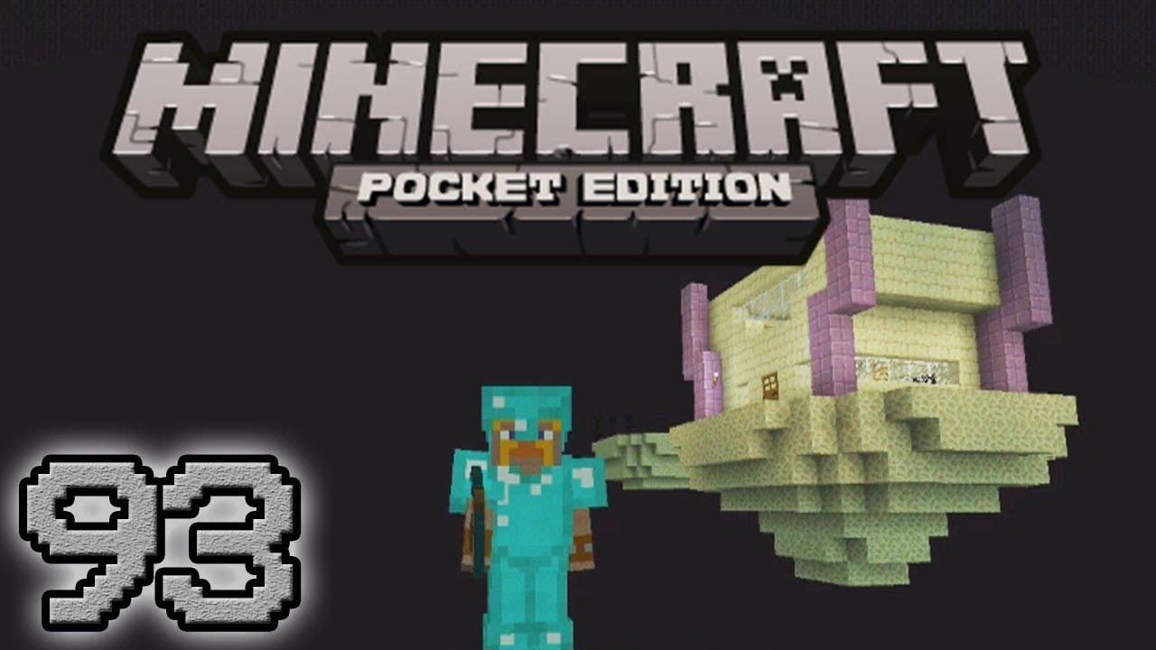 Minecraft pe la mia nuova casa nell 39 end 93 youtube for La mia nuova casa