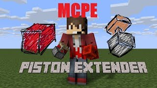 How To Build GIANT PISTON EXTENDERS in MCPE !❗!