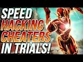 SPEED HACKING CHEATERS IN INTENSE TRIALS MATCH - Destiny 2
