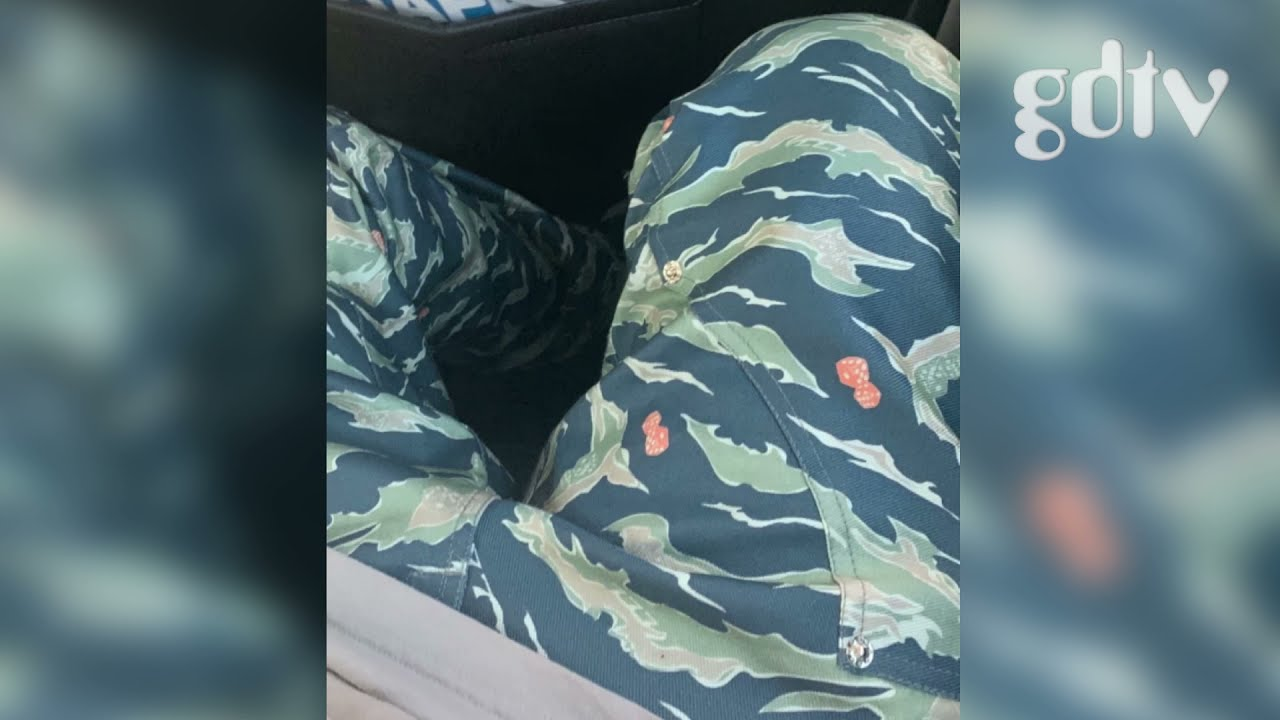 Lil Housephone Leaks Unreleased Highrollers Tiger Camo Dice Pants