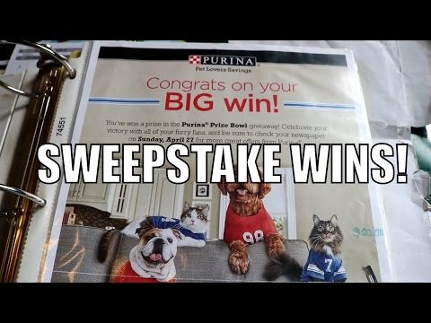 Inspiration! WINNING SWEEPSTAKES, CONTESTS & GIVEAWAYS! SWEEPSTAKE WINS