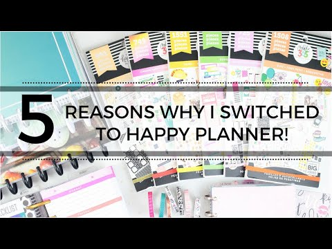 5 Reasons Why I Became A HAPPY PLANNER GIRL! | At Home With Quita
