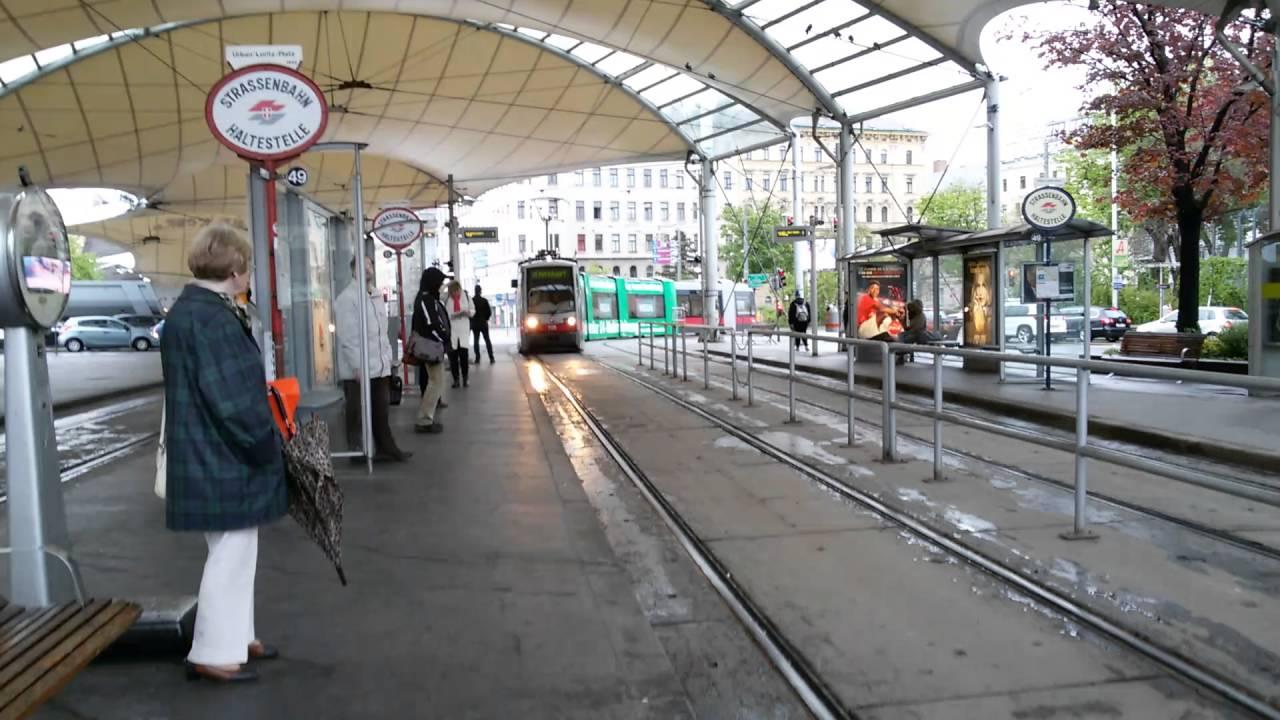Straßenbahn Linie 49 Urban Loritz Platz In Wien Youtube