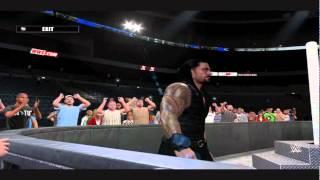 WWE 2K15 PC Mod; Roman Reigns Tron & Theme