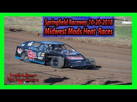 Midwest Mods - Heat Races  - Lil Buck 31 - Springfield Raceway 10/20/2018