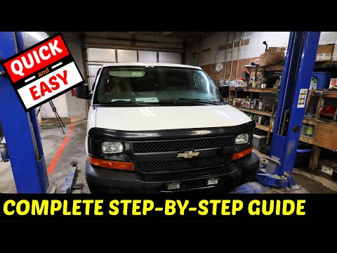 Chevy Express 4.8l V8 Starter Replacement